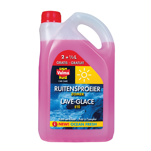 Valma - Ruitensproeiervloeistof 'Kant en Klaar' Zomer - 2500 ml